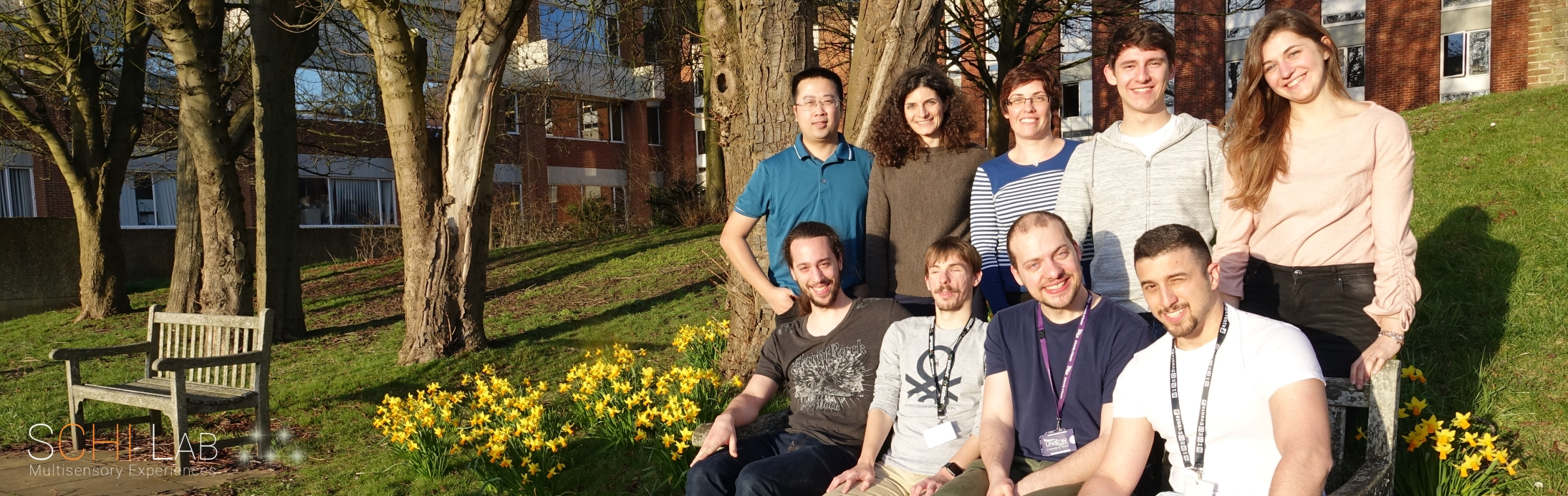 The group picture of the SCHI Lab team